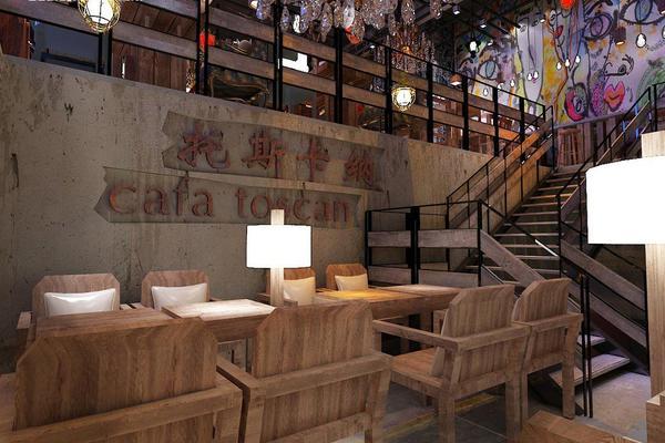 上海托斯卡纳咖啡厅设计