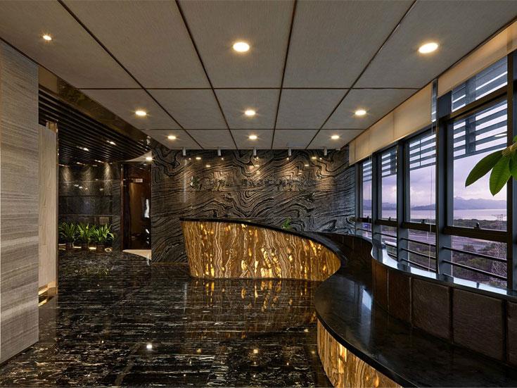 建筑装饰公司办公空间设计