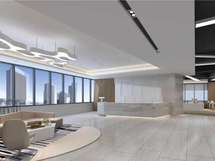 上海一号广场办公室设计