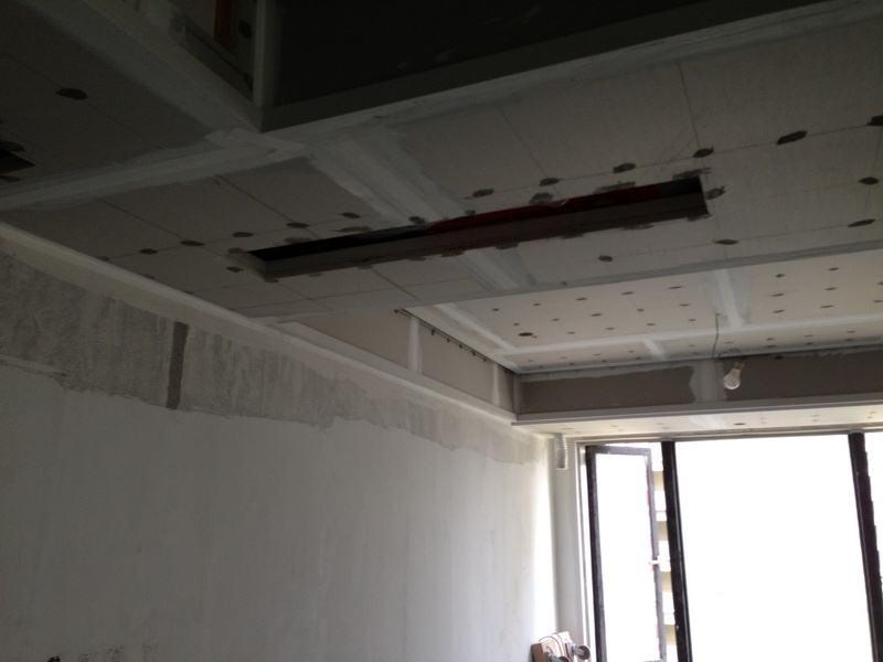 办公室设计施工油漆阶段