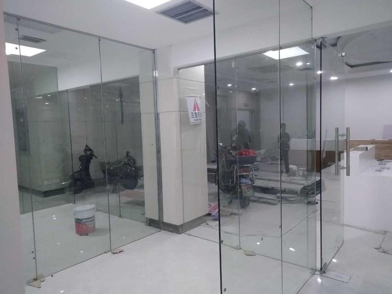 长宁区汉森商务楼800平办公室设计方案