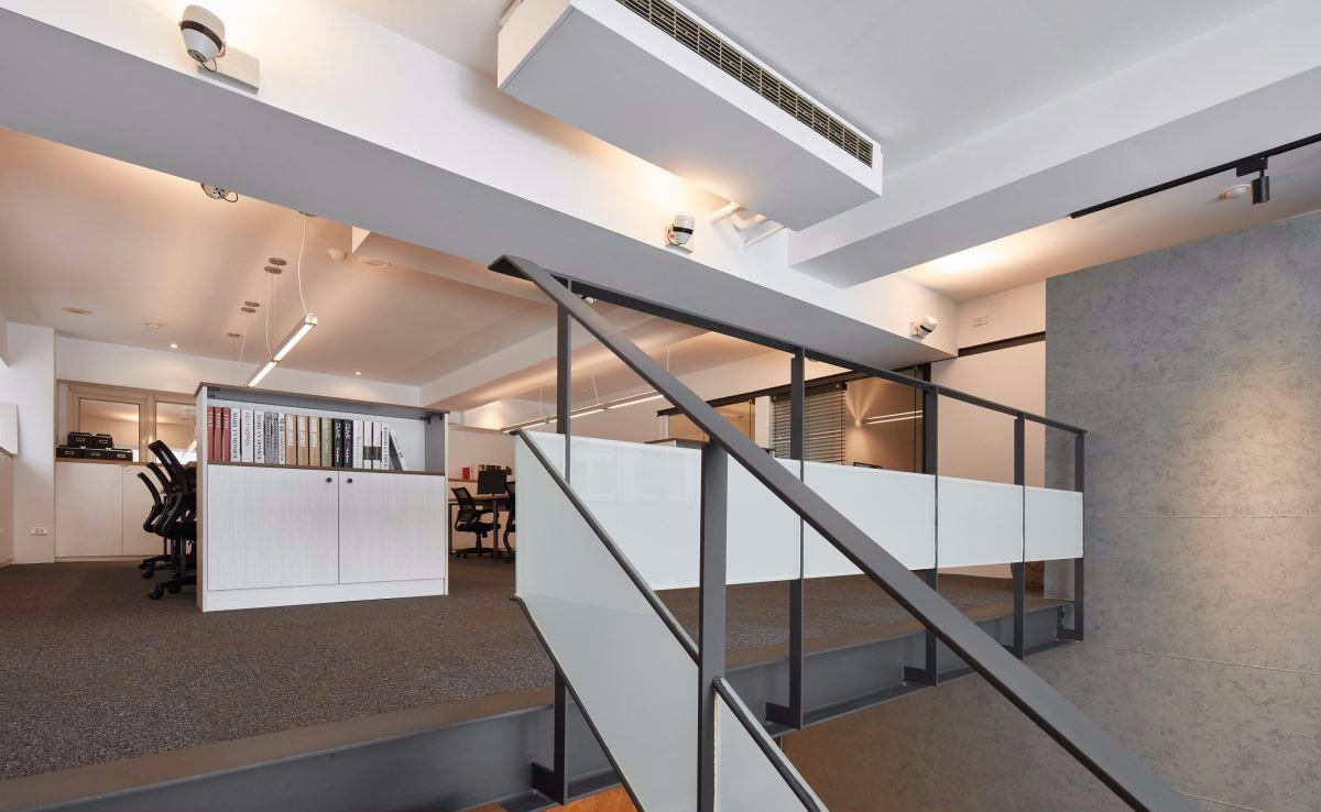 厂房改造LOFT风格办公室效果