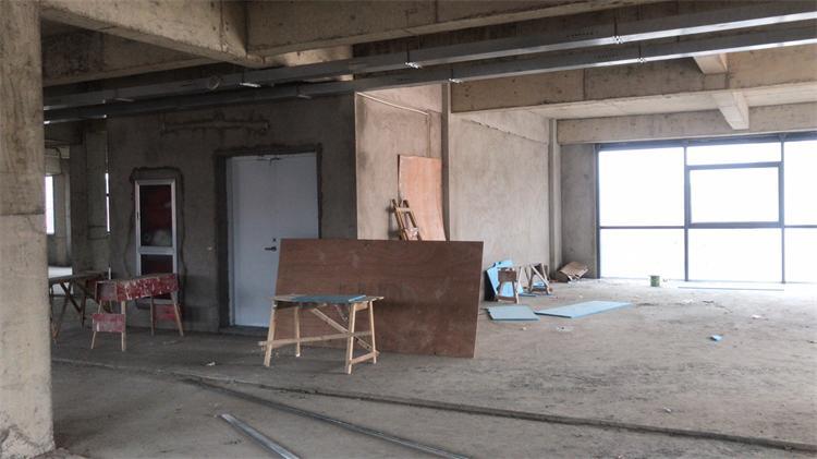 浦东曹路中建八局申拓投资办公室设计放样现场