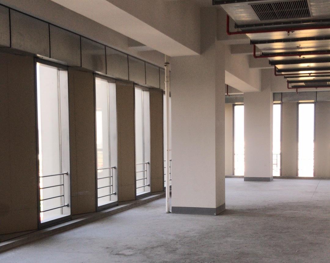 奉贤200平米美谷产业园办公室开工现场