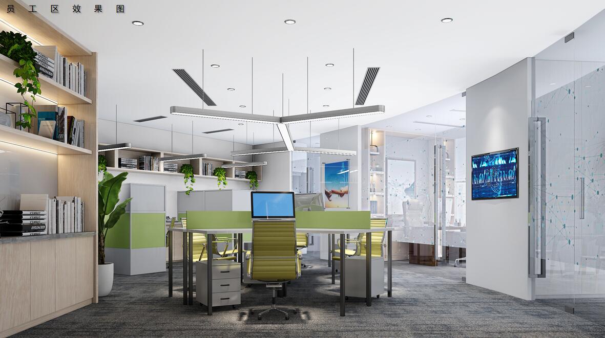 浦东新区世纪大道1568号中建大厦办公室雷火电竞下载设计案例
