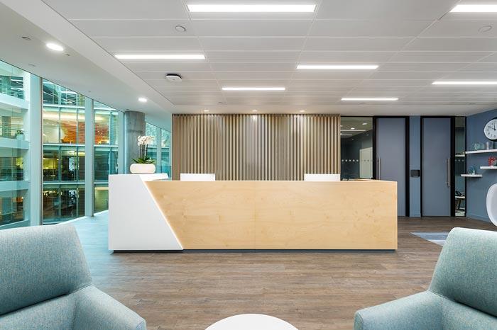 1000平米金融集团公司办公室设计