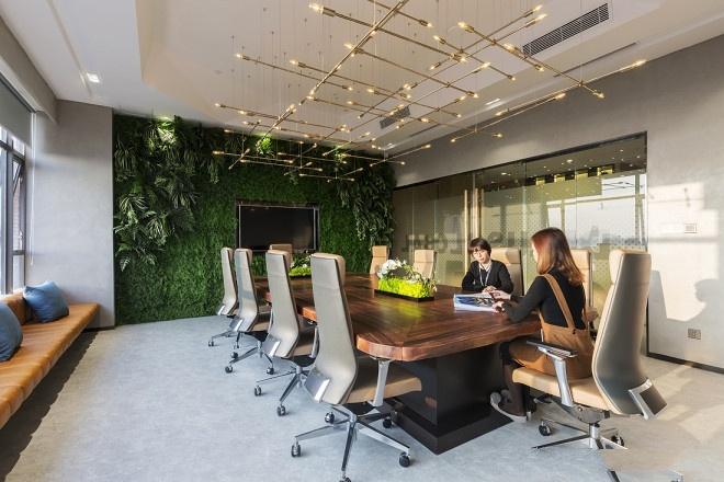 整洁的办公环境设计效果图