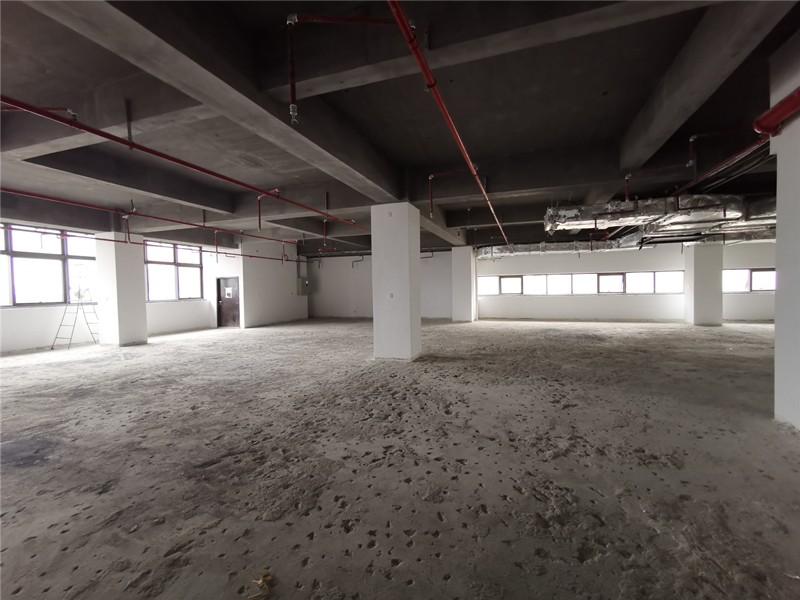 浦东炬创芯大楼1400平方百度公司办公楼设计