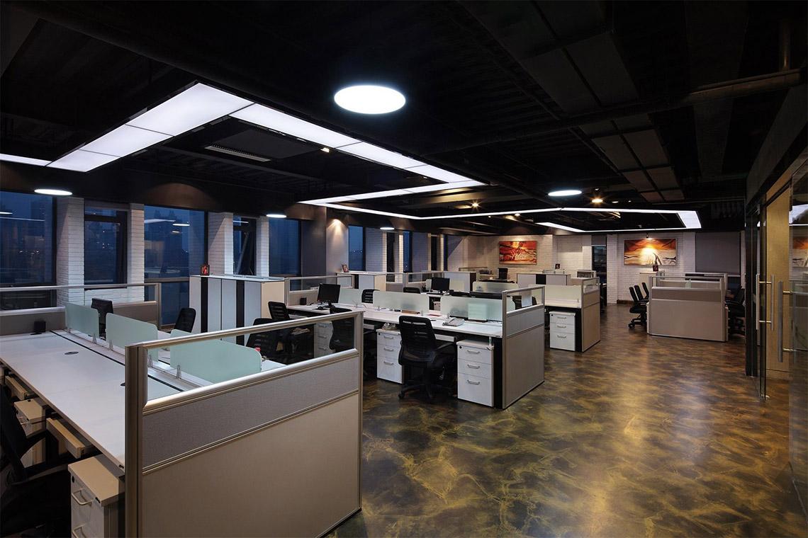 1600平米现代感办公楼设计