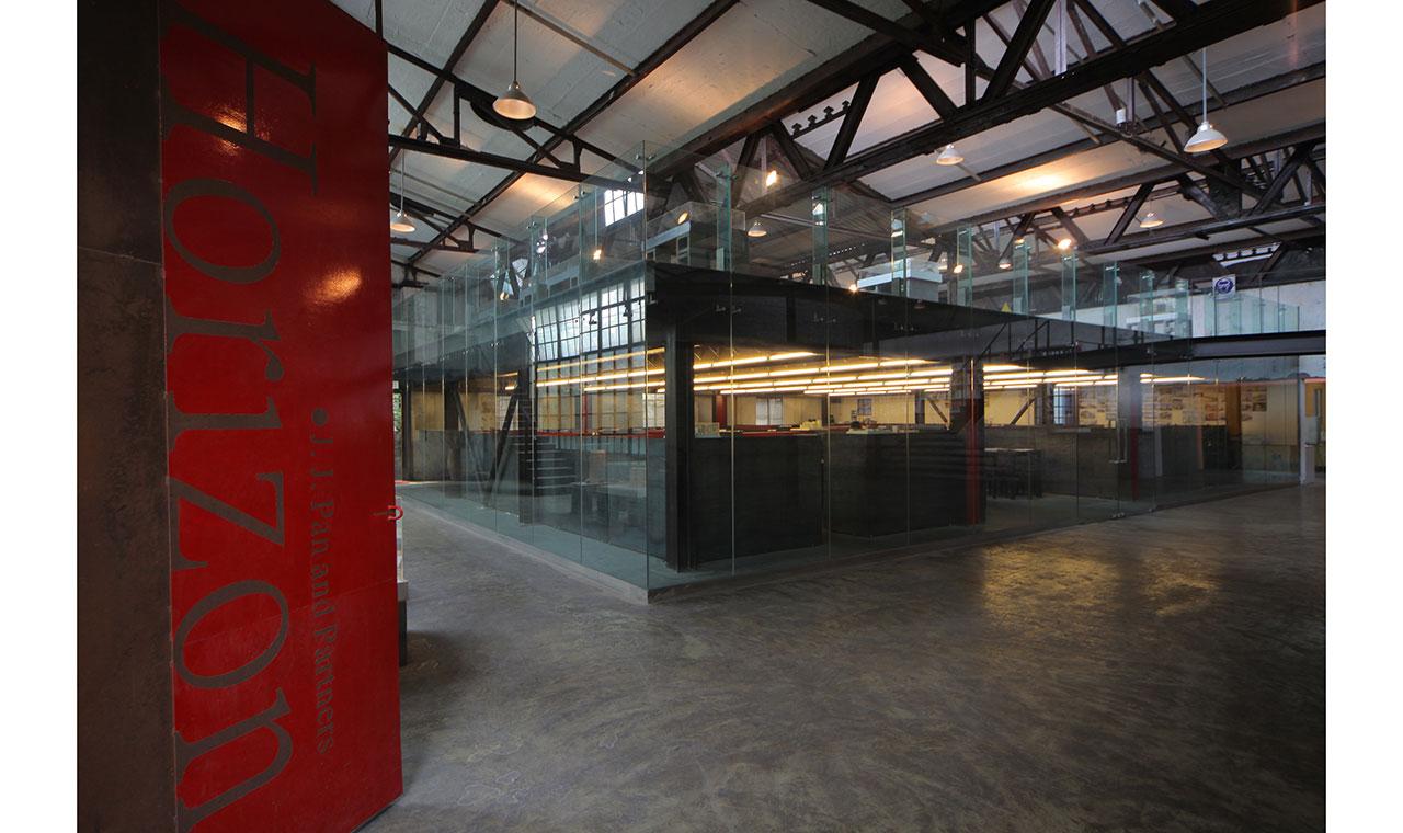 上海群裕设计新办公室的