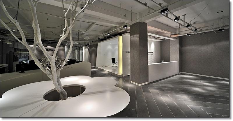 大型办公室装修照明设计42